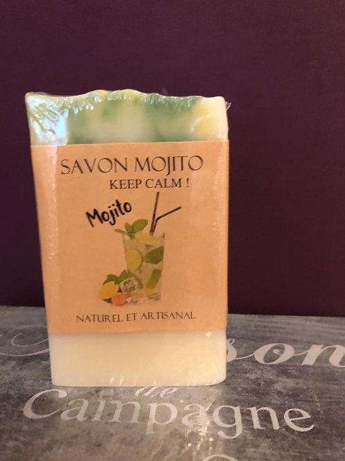 "Savon artisanal ""Mojito"""