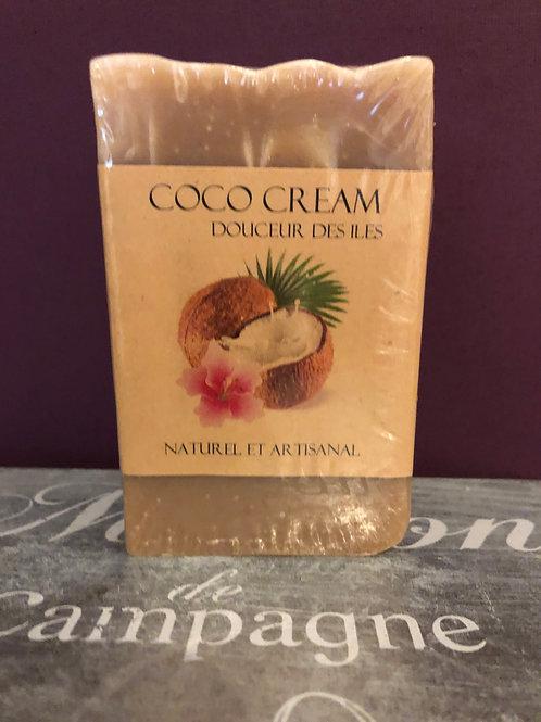 "Savon artisanal ""Coco cream"""