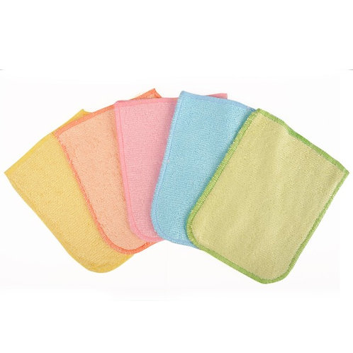 Eco-chou - Lot de 5 gants de change lavables