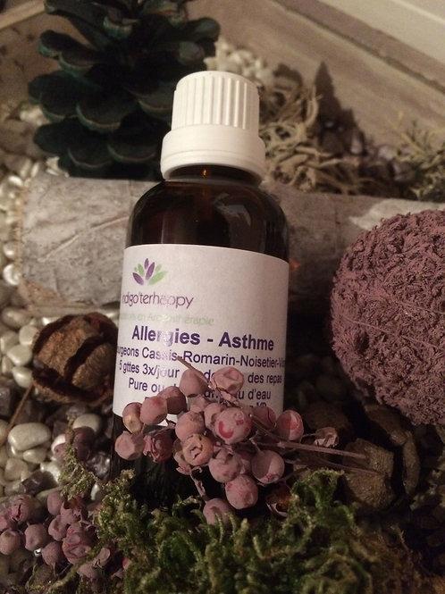 Complexe Allergies - Asthme- Gemmothérapie - 30ml
