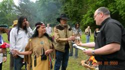 Native American  Wedding Ceremony