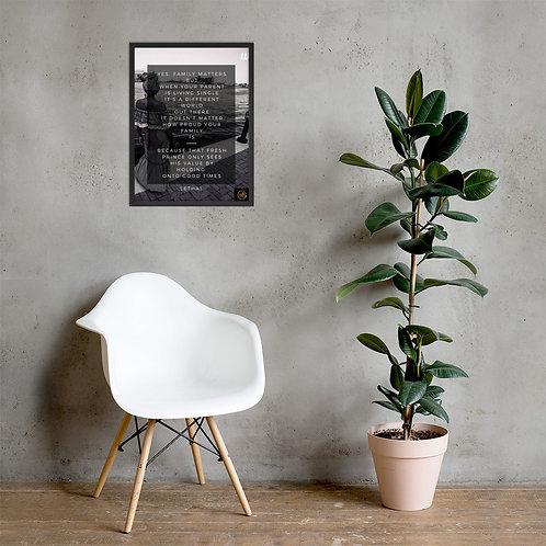 Blast Off Framed Poster