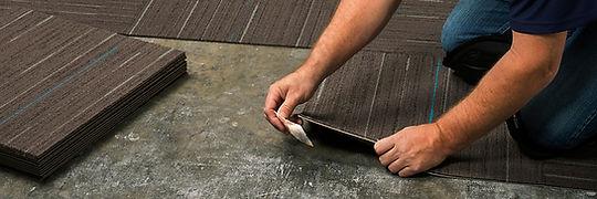 alfombra modular para oficina df