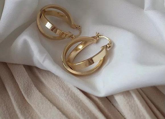 Jayde Gold Hoops