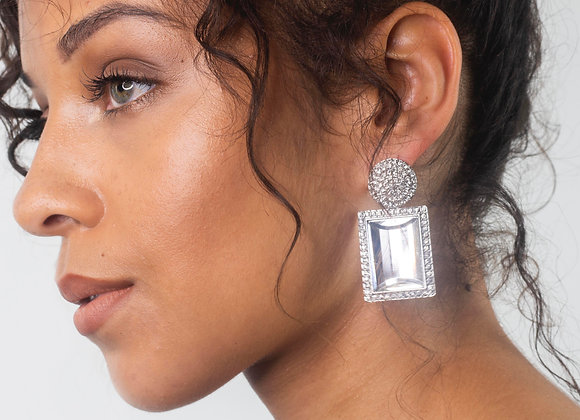 Studded Statement Earring