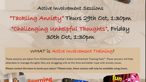 Support for Anxiety: Richmond Fellowship Zoom offer