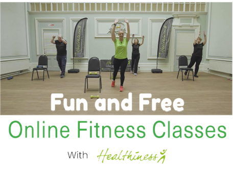 Healthiness sessions online (50+)