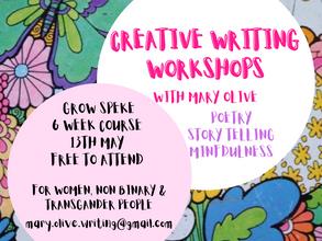 Creative Writing Workshops with Grow Speke