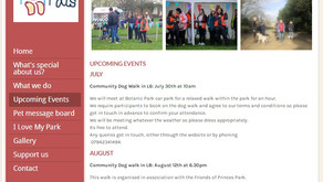 Pets & Pals : Community Dog walks for July and August