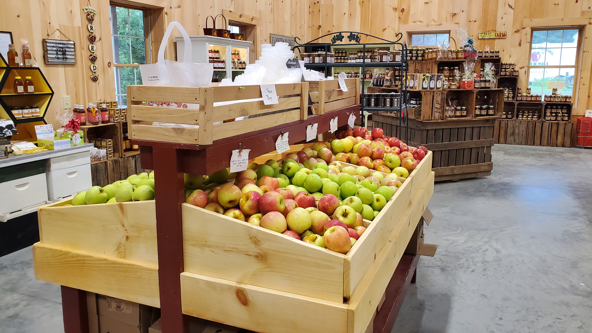 Farm Market apples