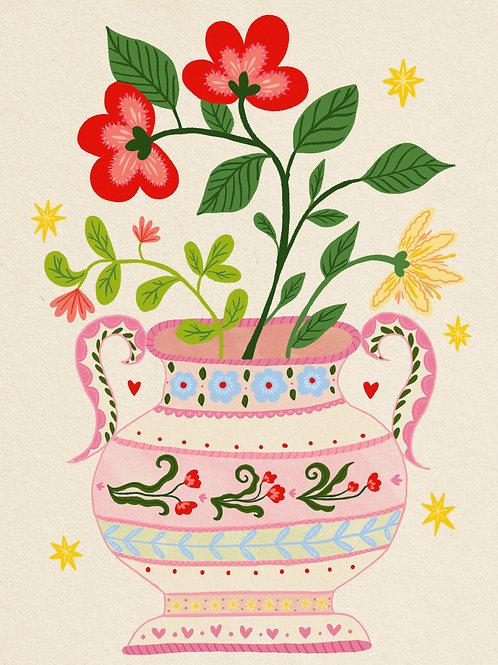 Vase - A5 Print