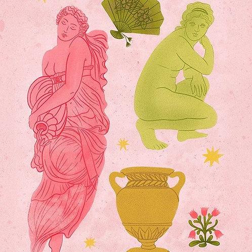Statues - A4 Print