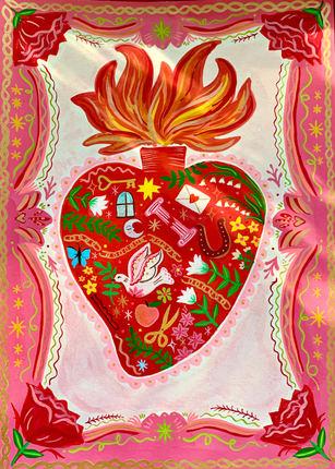Full Heart Painting