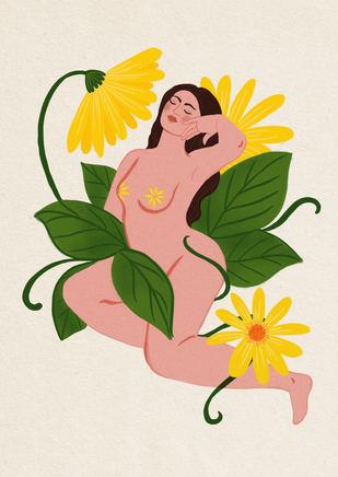 Flower Bather
