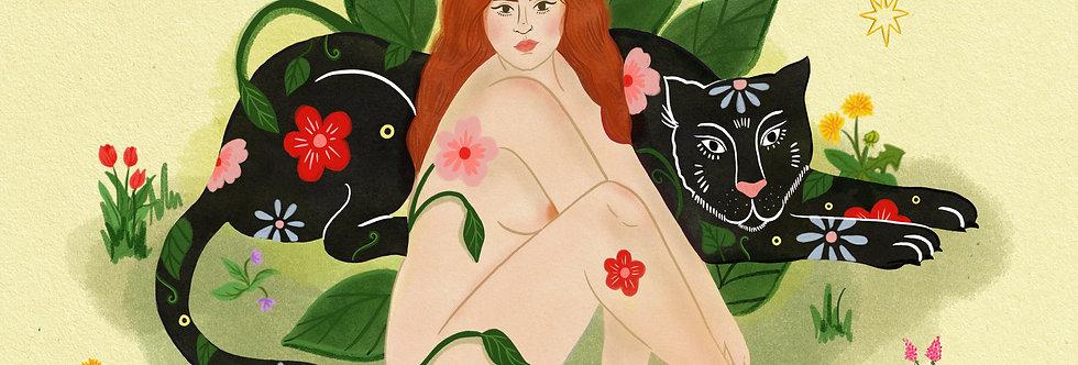 Flora - A4 Print