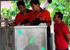 Dewatering Machine เครื่องบดเศษเปลือกผลไม้  at Zeavola Resort เกาะพีพี จ.กระบี่