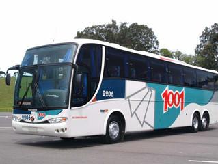 Parada de ônibus  em Charitas