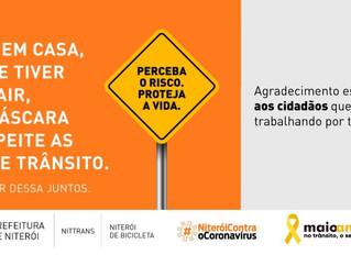 Maio Amarelo ganha campanha virtual