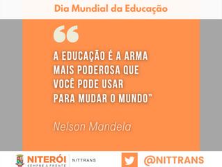 28 de abril - Dia Mundial da Educação: Respeito e Responsabilidade - Pratiquem no Trânsito