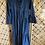 Thumbnail: Long Corduroy Dress - Navy