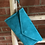 Thumbnail: Suede Clutch - Turquoise