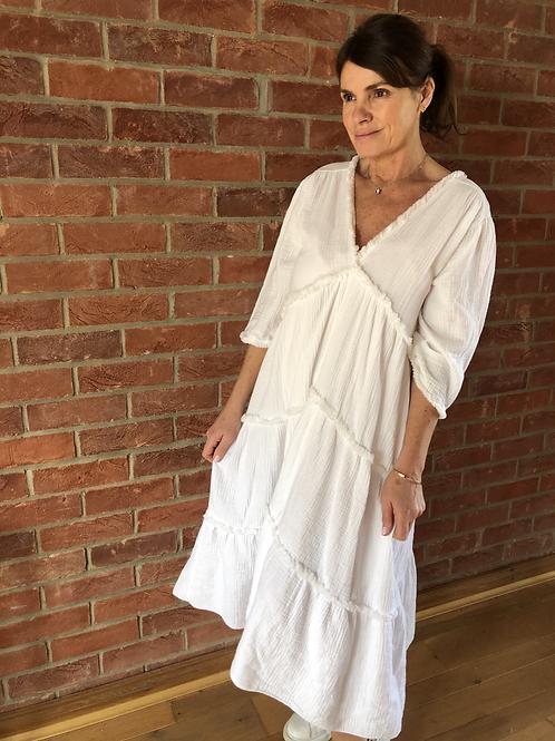Freya Dress - White