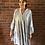 Thumbnail: Leopard Print Dress - Pale Grey