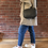Thumbnail: Leather Camera Bag -Grey