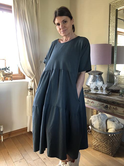 Olive Dress - Charcoal