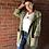Thumbnail: Star Hooded Jacket - Khaki