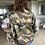 Thumbnail: Vintage Camouflage Jacket - Gold Stars