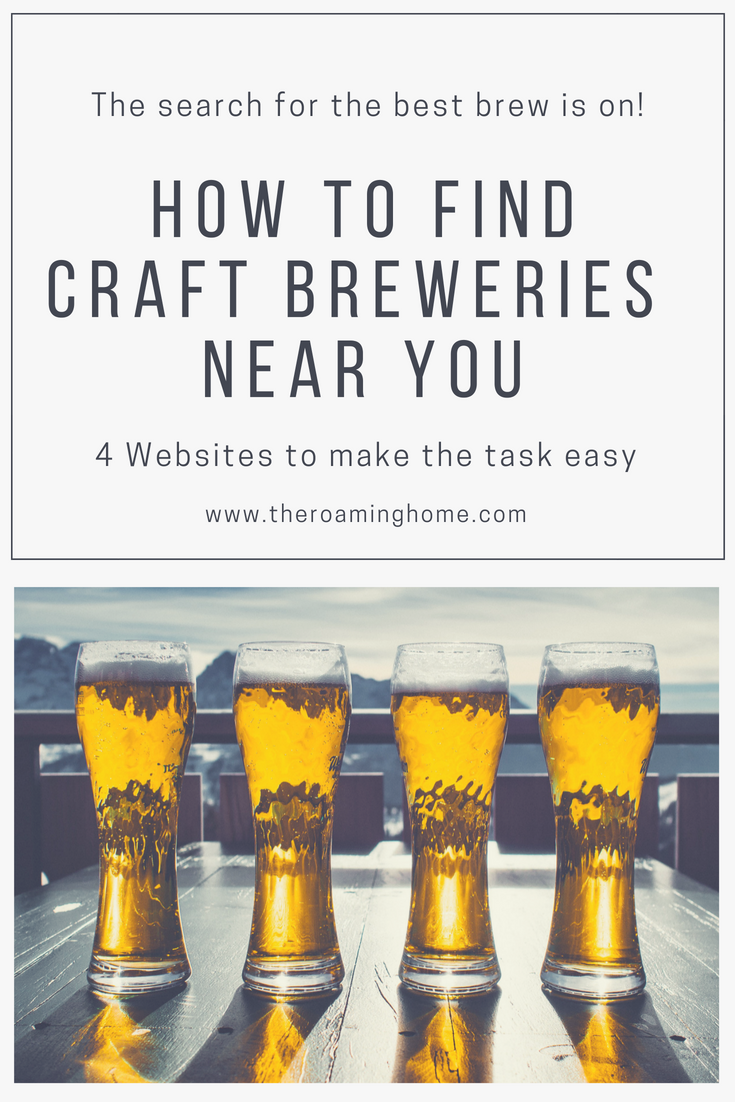 How to find craft breweries and craft beer while traveling across the USA