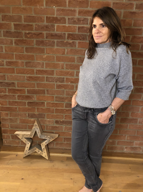 Sienna Jeans -Washed Grey