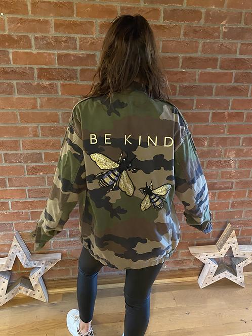 Be Kind Camo Jacket