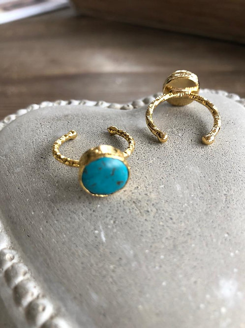 Stacking Ring - Turquoise