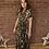 Thumbnail: Leopard Print Drawstring Dress