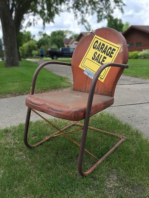 Advertising for your garage sale will help make it a sucess