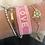 Thumbnail: Love Woven Bracelet - Pink