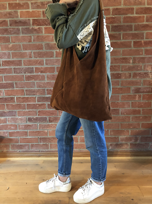 Slouch Bag - Brown