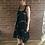 Thumbnail: Tie Dye Dress - Black