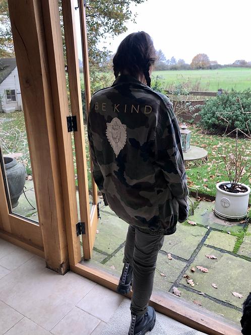 Vintage Camouflage Jacket Be Kind