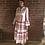 Thumbnail: Long Aztec Dress - Hot Pink