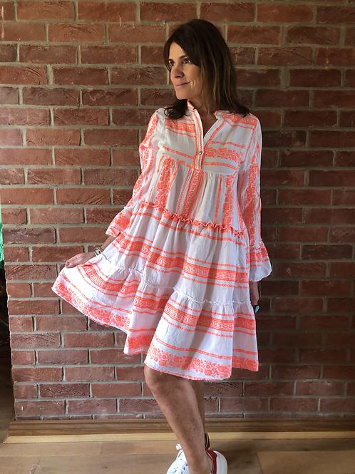 Lyra Dress - Neon Orange