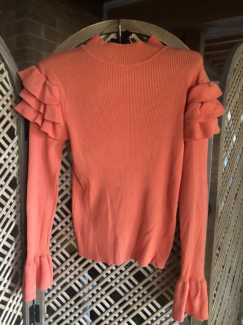 Frill Top - Orange