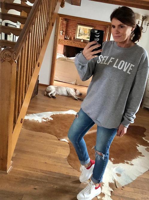 Self Love Sweatshirt - Grey