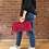 Thumbnail: Suede Clutch - Pink