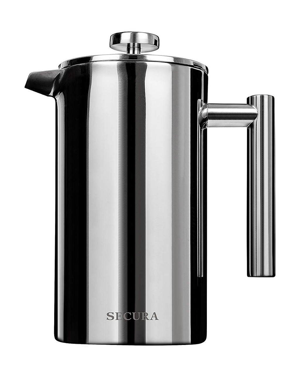 Secura french press is the perfect small space solution to a great cup of coffee