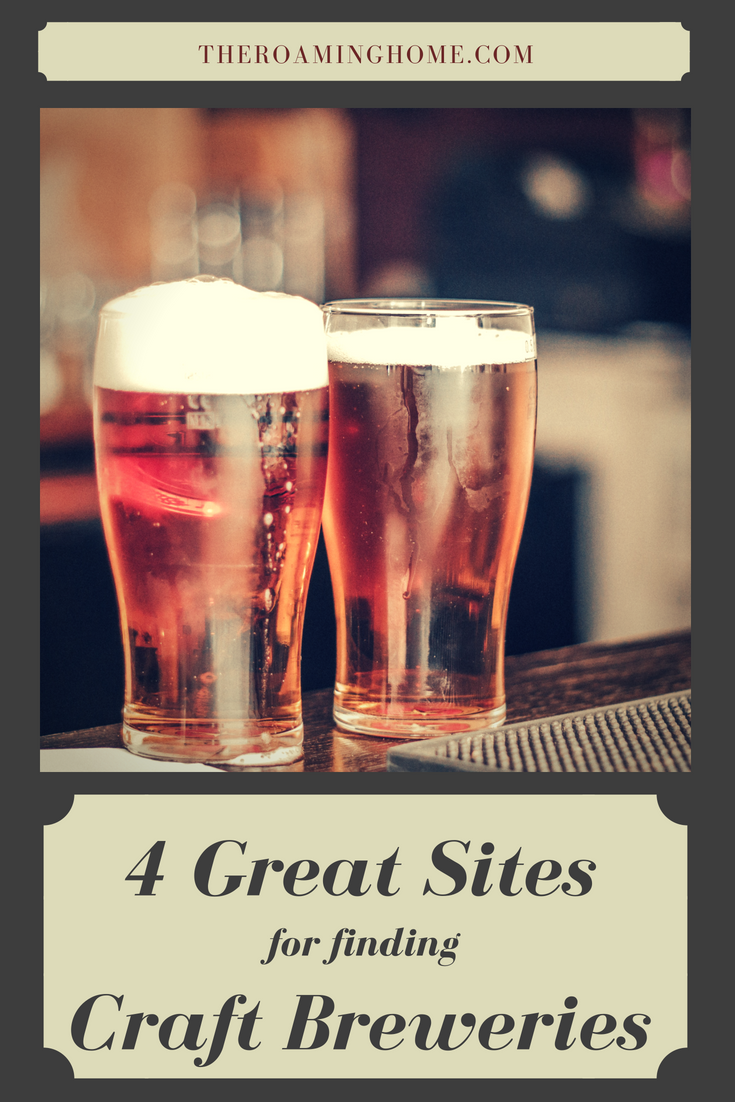 Nothing tastes better than a cold beer and these 4 great sites making finding craft beer and breweries a breeze
