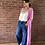 Thumbnail: Long Cardigan - Pink