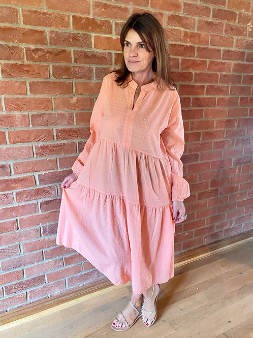 Frigg Dress - Apricot